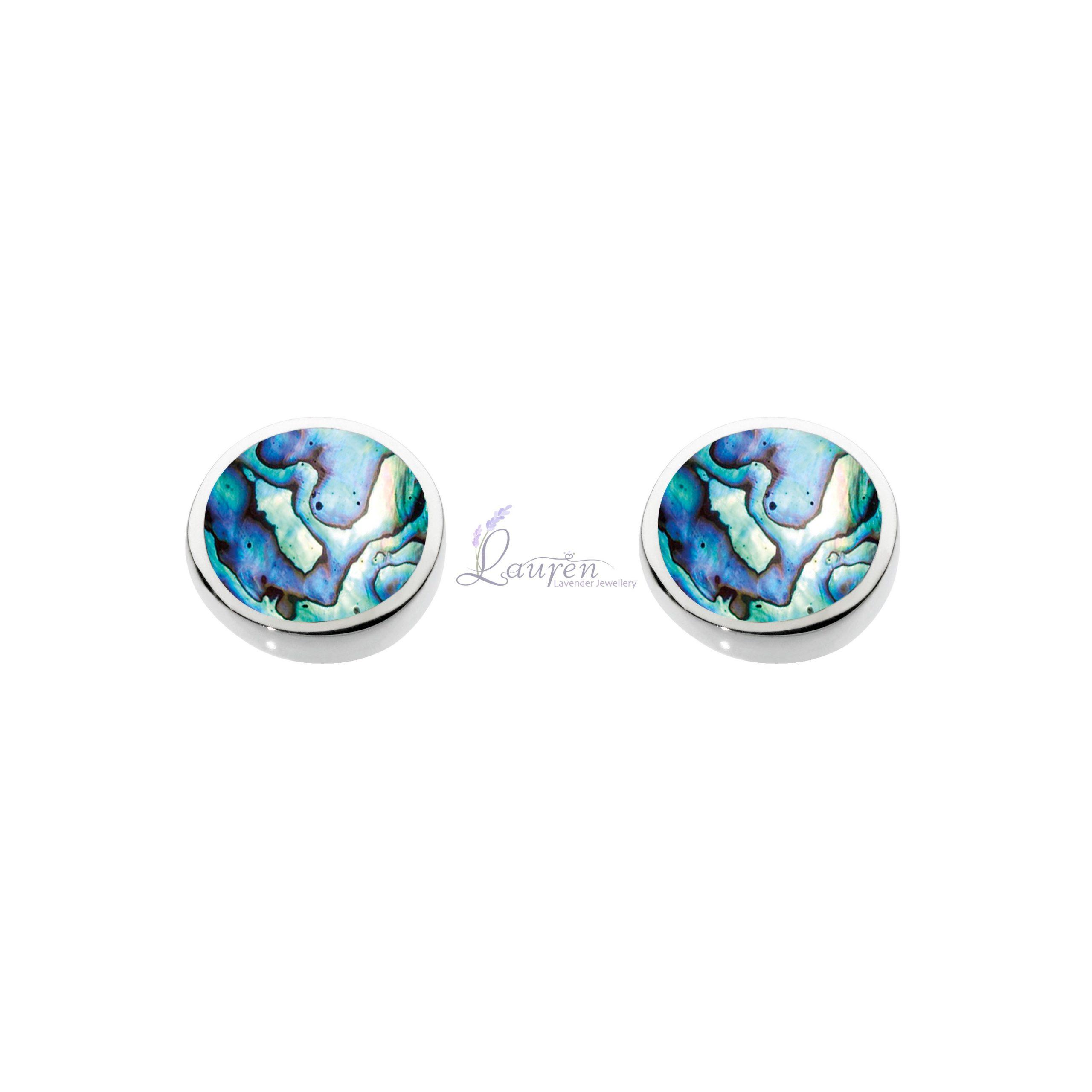 shell stud earrings_marked